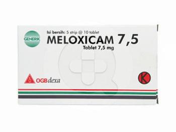 Meloxicam OGB Dexa Medica Tablet 7,5 mg  harga terbaik