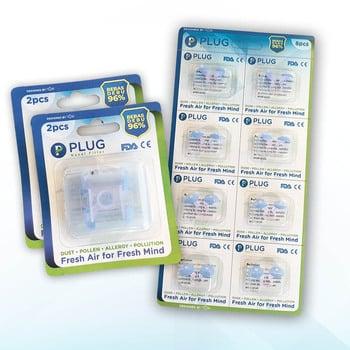 PLUG Nasal Filter Mix H 3 Pack  harga terbaik