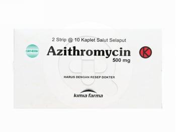 Azithromycin Kaplet 500 mg harga terbaik