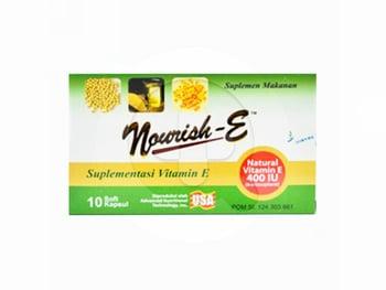 Nourish-E Kapsul 400 IU  harga terbaik 135114