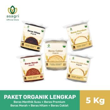 Asagri - Paket Organik Lengkap termasuk nasi coklat
