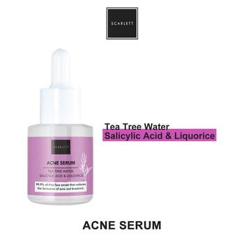 scarlett whitening acne serum