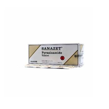 Sanazet tablet adalah obat untuk terapi kombinasi tuberkulosis.