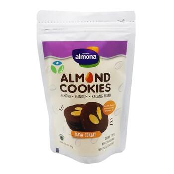Almona - Almond Cookies - Healthy Snack - Vegan Friendly 100 g harga terbaik 25000