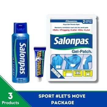 Salonpas - Sport #LetsMove Package harga terbaik 121700