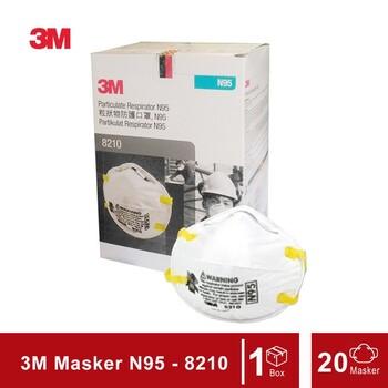 3M Particulate Respirator N95 - 8210 Mask  harga terbaik 319500