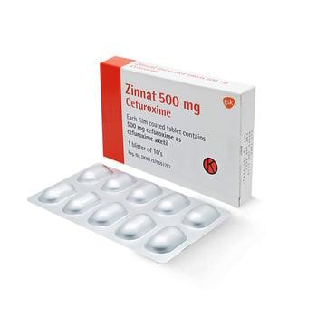 Zinnat Tablet adalah obat untuk mengatasi berbasai infeksi