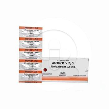 Movix tablet digunakan untuk terapi eksaserbasi akut peradangan sendi