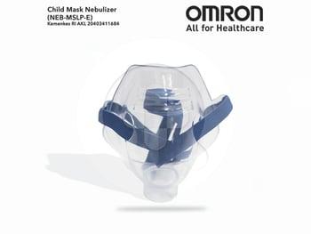 Omron Child Mask Nebulizer harga terbaik 60500