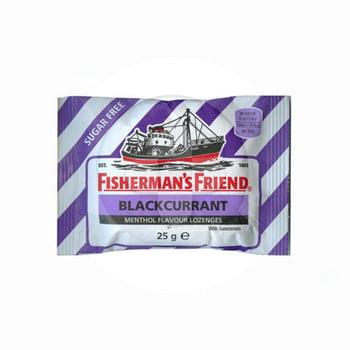 Fisherman's Friend Rasa Blackcurant Sugar Free 25 g harga terbaik 14511