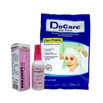 Paket Bundle DoCare Hair Clean & Dorasept OH harga terbaik 132800