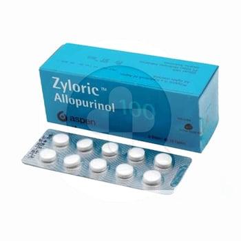 Zyloric Tablet 100 mg (6 Strip @ 10 Tablet)
