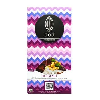 Pod Chocolate - Dark - Fruit & Nut 100 g