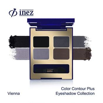Inez Color Contour Plus Eyeshadow Collection - Vienna harga terbaik