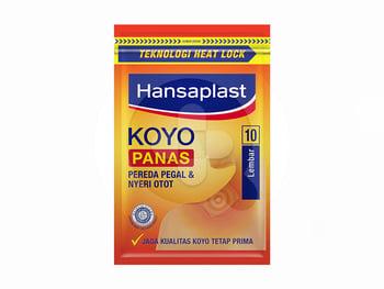 Hansaplast Koyo Panas Resealable 10's harga terbaik 5904