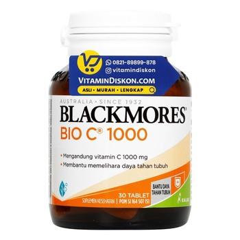 Blackmores Bio C 1000 mg tablet digunakan untuk memelihara daya tahan tubuh