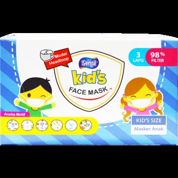 Sensi Kids Face Mask Headloop  harga terbaik 125000