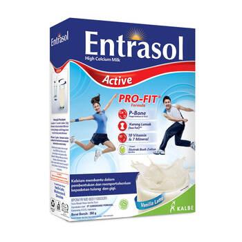 Entrasol Active Vanilla Latte 350 g harga terbaik 57000
