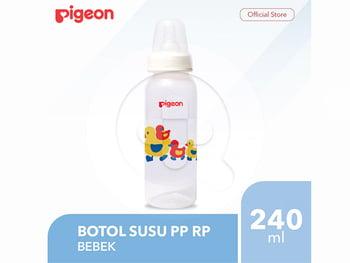 Pigeon Botol Susu PP RP 240 mL - Bebek harga terbaik 46000