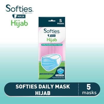 Softies Daily Mask Hijab 5s harga terbaik 15000