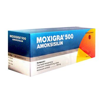 Moxigra tablet adalah antibiotik yang digunakan untuk mengatasi berbagai jenis infeksi