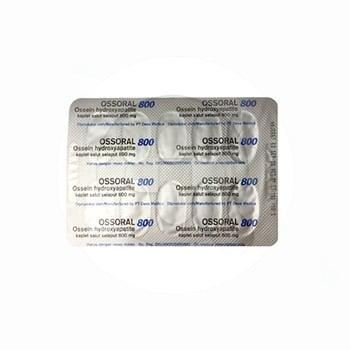 Ossoral Kaplet 800 mg (1 Strip @ 10 Kaplet)