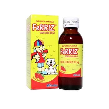 Ferriz Sirup 100 ml harga terbaik