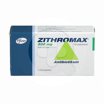 Zithromax tablet digunakan untuk mengatasi infeksi saluran pernapasan atas dan bawah, infeksi kulit, dan infeksi lainnya.