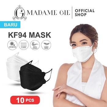Madame Gie Protect You KF94 Mask Isi 10 Pcs - Putih