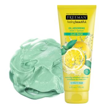 Freeman Feeling Beautiful Oil Absorbing Mint & Lemon Clay Mask 175 ml harga terbaik 96800