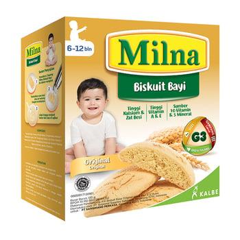 Milna Biskuit Bayi Original 130 g