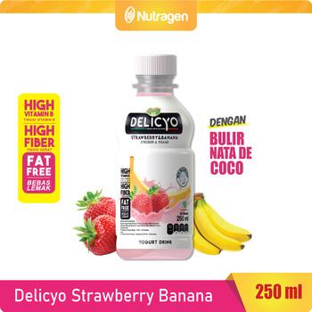 Delicyo Strawberry Banana harga terbaik 10500