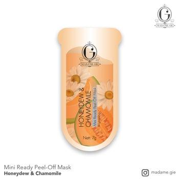 Madame Gie Mini Ready Peel Off Mask Honeydew & Chamomile harga terbaik 3000