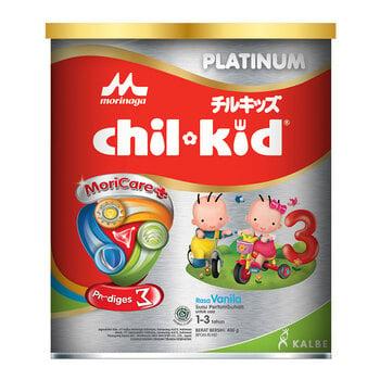 Morinaga Chil Kid Platinum Moricare+ Vanilla 400 g harga terbaik 135000