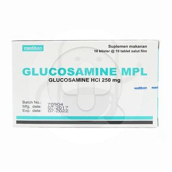 Glucosamine MPL Kaplet 250 mg  harga terbaik 143221