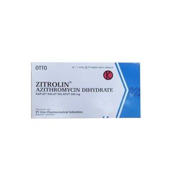 Zitrolin kaplet adalah obat yang digunakan untuk mengatasi infeksi yang disebabkan bakteri