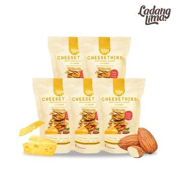 Ladang Lima Cookies Cheesethins 80 g  harga terbaik 130000