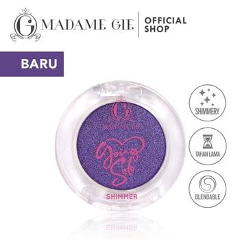 Madame Gie Going Solo Shimmery Pressed Eyeshadow 08 - Dark Cloud harga terbaik 16000