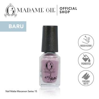 Madame Gie Nail Matte 15 Congolais harga terbaik 7200