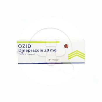 Ozid kapsul adalah obat untuk mengatasi luka atau tukak lambung dan usus halus
