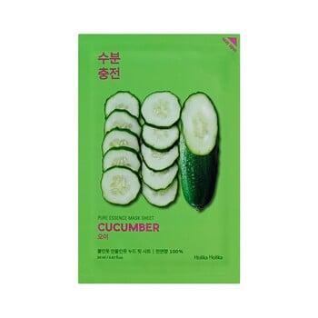 Holika Holika Pure Essence Mask Sheet - Cucumber harga terbaik 22000