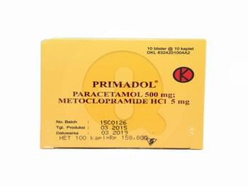 Primadol kaplet adalah obat untuk menurunkan demam dan meringankan nyeri ringan seperti sakit kepala sebelah (migrain) dan sakit gigi