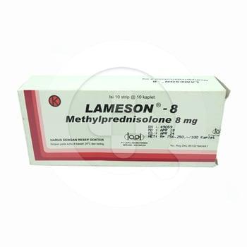 Lameson tablet adalah obat yang digunakan untuk mengatasi peradangan, gatal-gatal, dan kemerahan