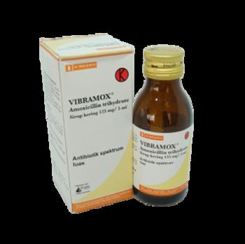 Vibramox sirup kering 60 ml adalah obat yang digunakan untuk mengatasi infeksi oleh bakteri.