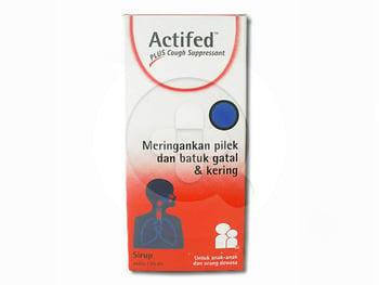 Actifed Plus Cough Suppressant Sirup 120 mL harga terbaik 55746
