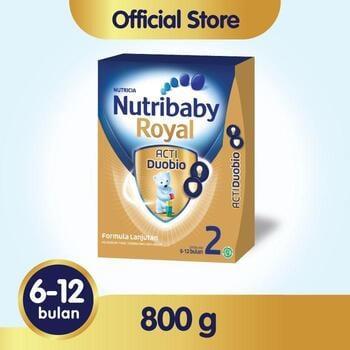 Nutribaby Royal 2 Susu Formula Bayi 6-12 Bulan 800 g harga terbaik