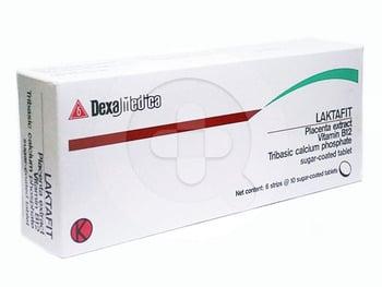 LaktaFit tablet digunakan untuk mengatasi masalah kurangnya produksi ASI (hipogalaktia).