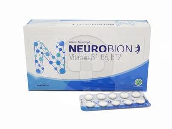 Neurobion Tablet (1 Strip @ 10 Tablet) | Beli Online Toko SehatQ, Gratis Ongkir