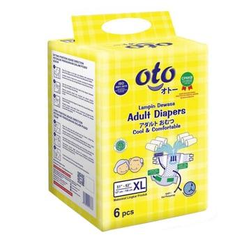 OTO Adult Diapers / Popok Dewasa Model Perekat - XL  harga terbaik 43500