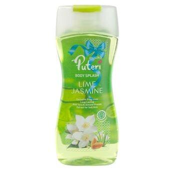 Mustika Ratu Body Splash Lime Jasmine 135 ml harga terbaik 17300